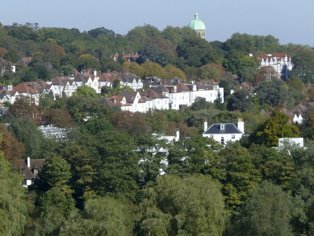 Picture of view towards the Highgate.